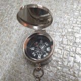 Compass Nautical Keyring -  Hooks Knobs