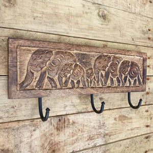 Elephant Wall Hook -  Hooks Knobs