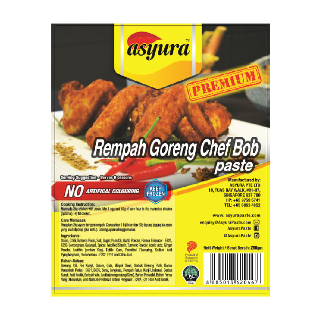 Rempah Goreng Chef Bob Paste