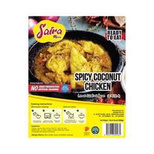 RTE: Spicy Coconut Chicken (Ready-to-Eat)