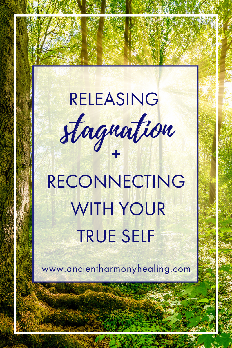 Releasing Stagnation + Reconnecting with your True Self