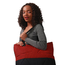 Load image into Gallery viewer, Maasai print travel bag