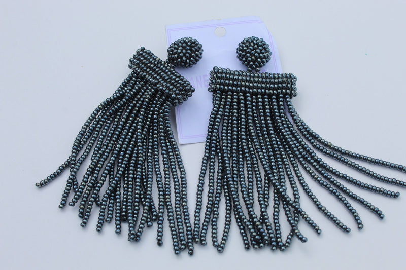 Grey posh Earrings