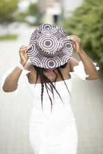 Small size Ankara beach/sun hat