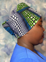 Doctors/nurses unisex fabric work/scrub hat