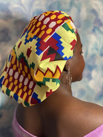 African print Sleeping Hair bonnet