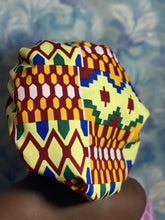 Load image into Gallery viewer, African print Sleeping Hair bonnet
