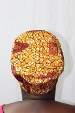 Load image into Gallery viewer, Brown Fabric surgical cap