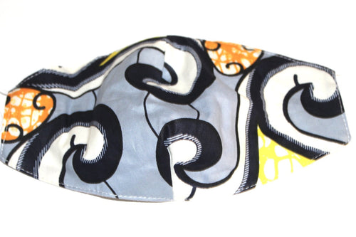 Ankara  fabric mask