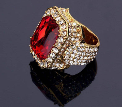 Ruby Gold Anniversary Ring