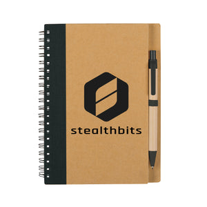 Eco-Inspired Spiral Notebook & Pen   6100