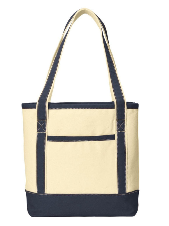 Port Authority® Medium Cotton Canvas Boat Tote  BG412
