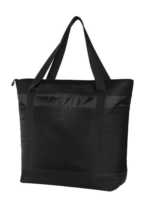 Port Authority® Large Tote Cooler in Black  BG527