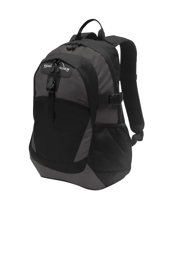 Eddie Bauer® Ripstop Backpack in Black/Grey Steel   EB910