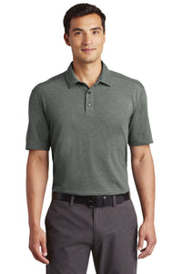 Port Authority® - Coastal Cotton Blend Polo in Deep Black/White.  K581