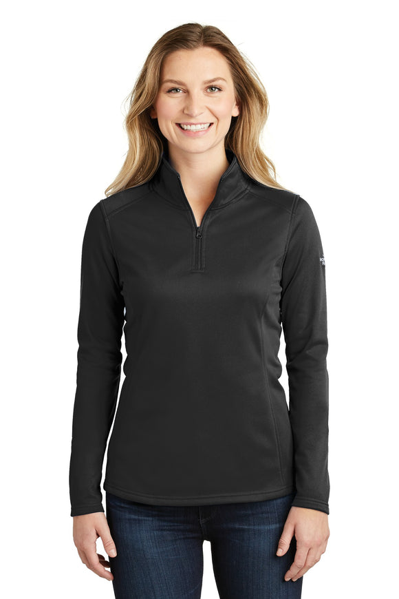 The North Face® Ladies Tech 1/4-Zip Fleece in TNF Black  NF0A3LHC
