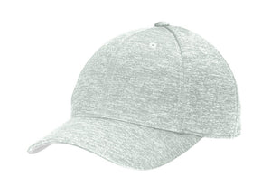 Sport-Tek® PosiCharge® Electric Heather Cap in Silver Electric.  STC34
