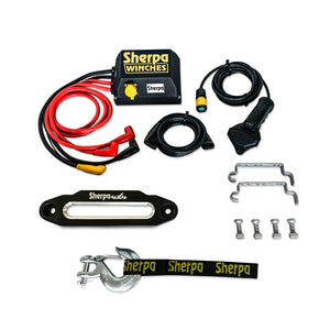 sherpa winch parts dyneema rope
