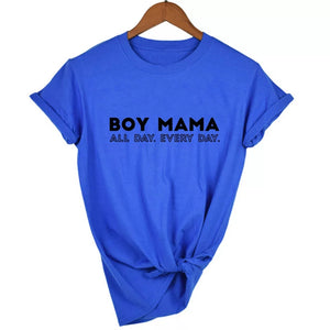 Boy Mama All Day Every Day Top