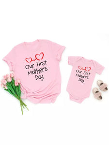 Our First Mother's Day Matching Top