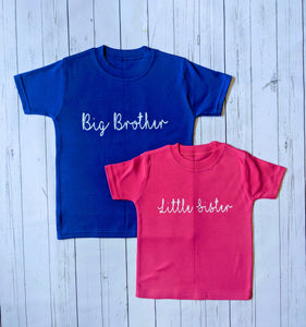 Big/Little Sister/Brother Family Set