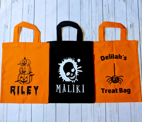 Custom trick or treat bags