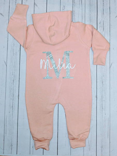 Initial and Name Onesie