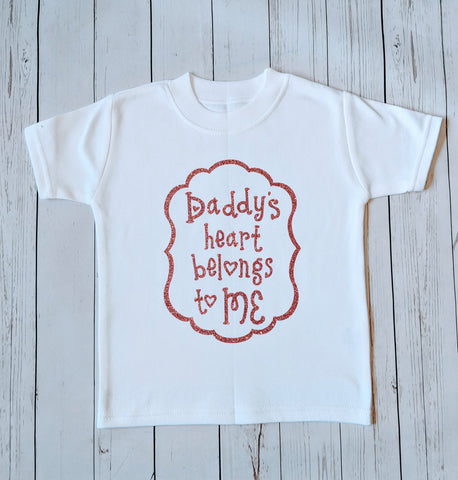 Daddy's Heart Belongs To Me Top