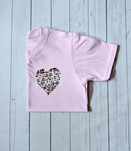 Heart Sketch Top