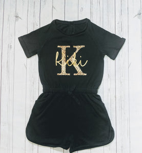 Initial and Name Playsuit