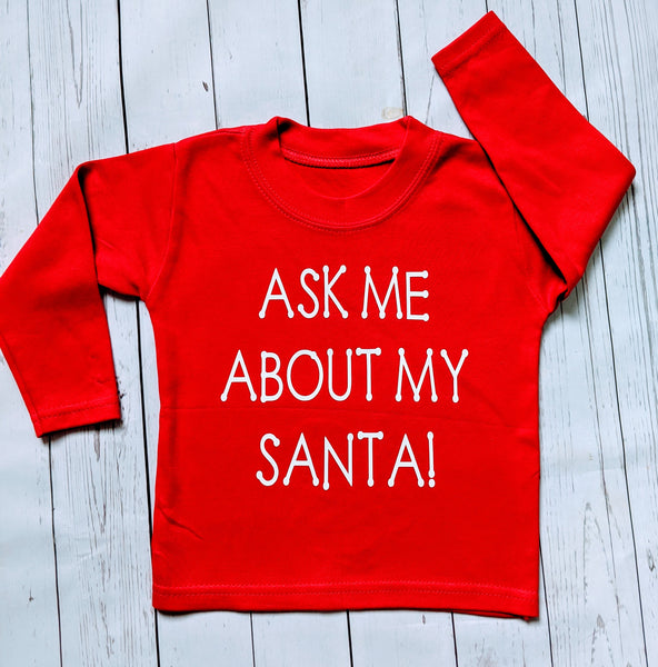 Ask me about my Santa Top