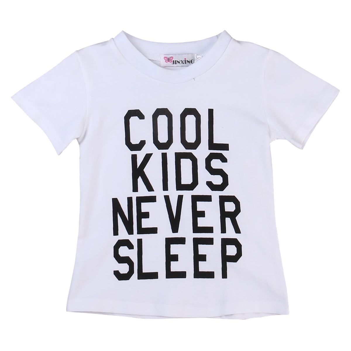 """Cool Kids Never Sleep"" T-shirt"