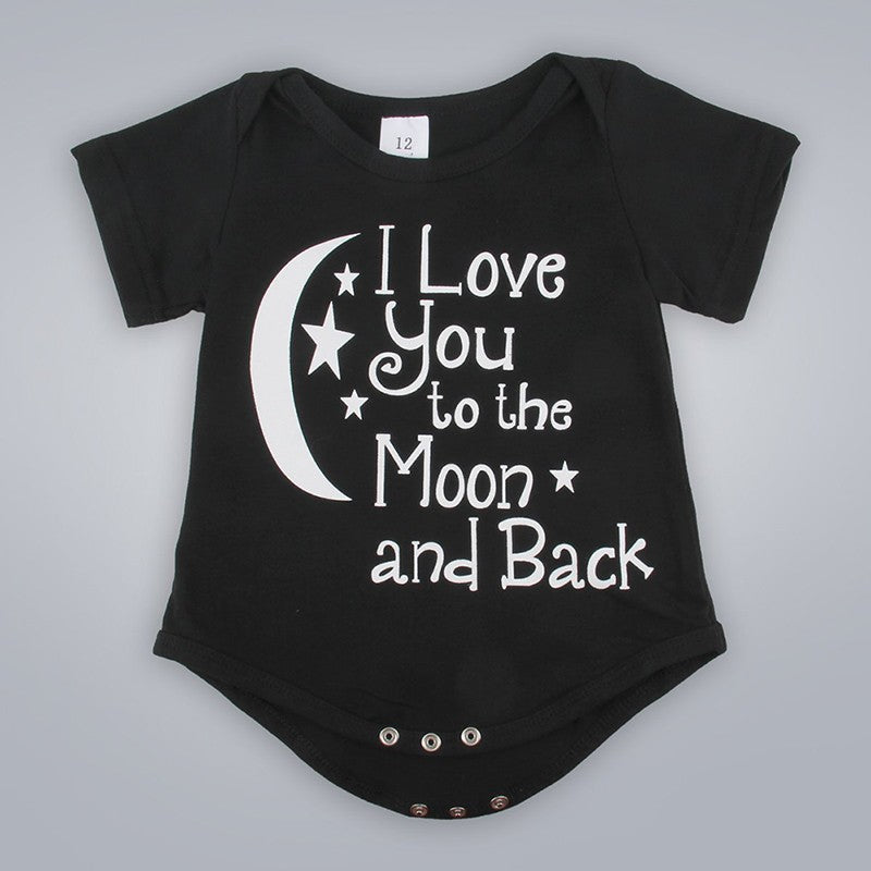 I love you to the Moon and Back Baby Grow