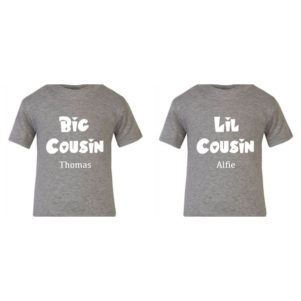 Big Cousin & Lil Cousin Custom Family Set