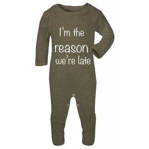 I'm the Reason We're Late Sleep-Suit
