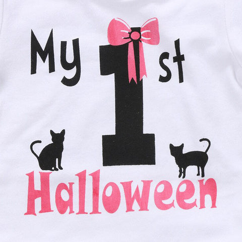My 1st Halloween - Cats & Bow