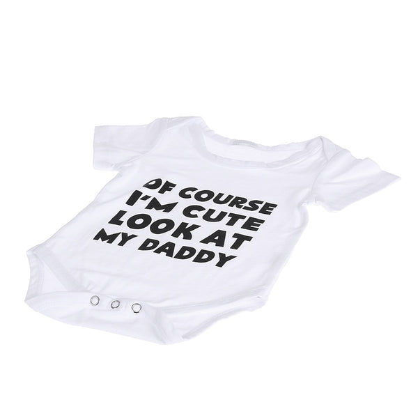 """ Of course I'm Cute..."" Baby Grow"