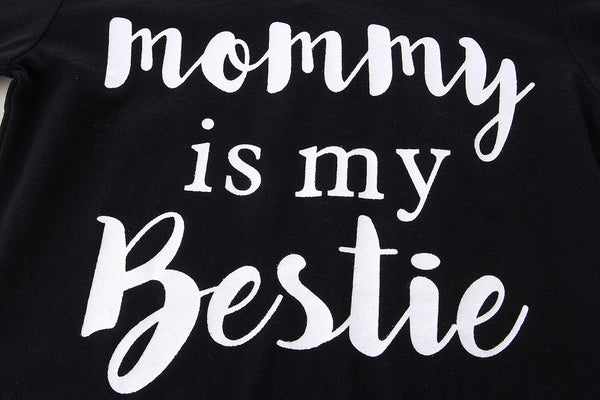 """Mommy is my Bestie"" Long Sleeve Top"