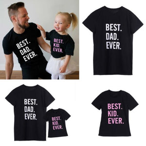 Best Kid & Best Dad Ever Family Sets