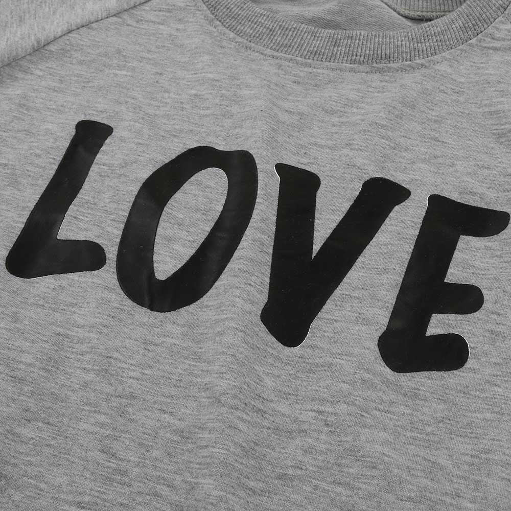 """Love"" Sweatshirt Family Set"