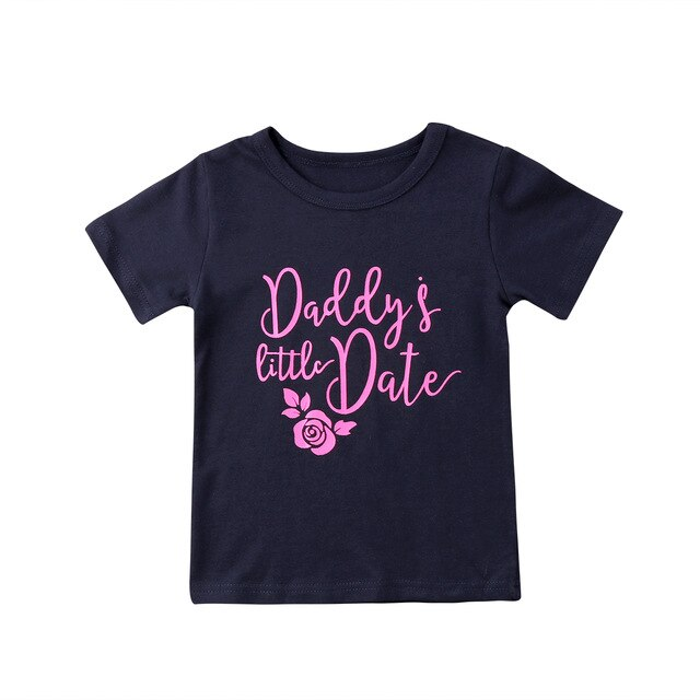 Daddy's Little Date Top