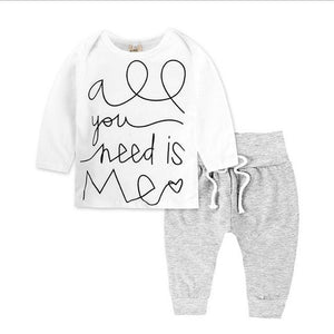 """All you need is me"" 2pc Set"