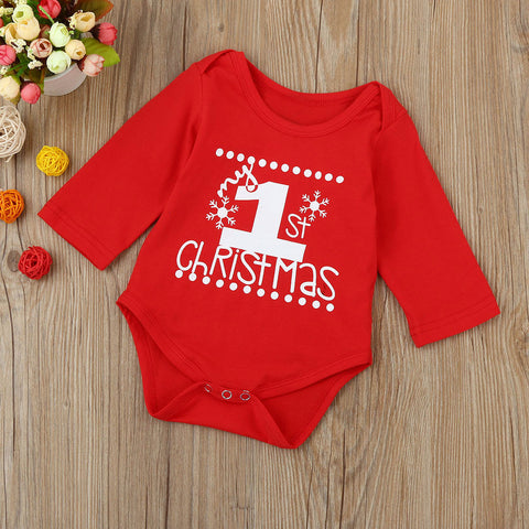 """My First Christmas"" Baby Grow"