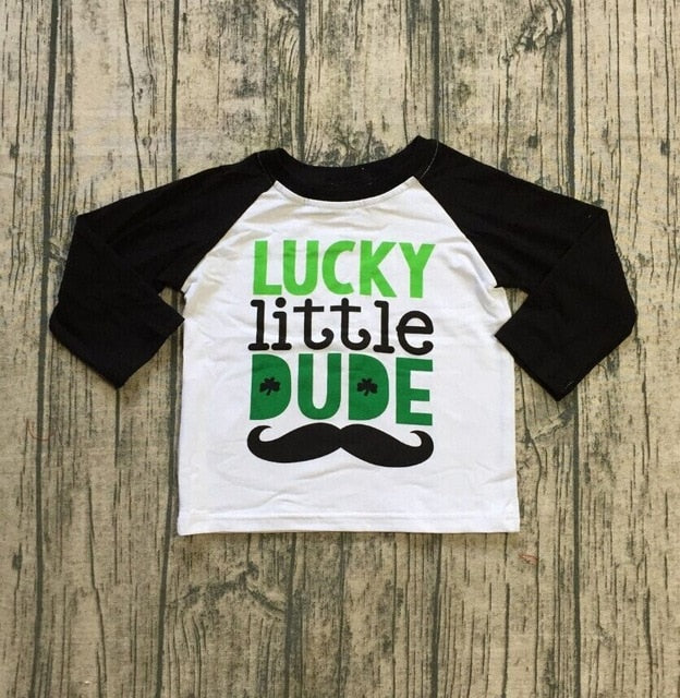 Lucky Little Dude Top