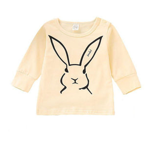Custom Rabbit Long sleeve Top