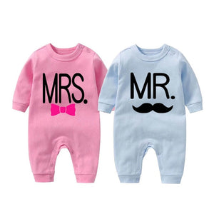 Mr & Mrs Twin Family Set