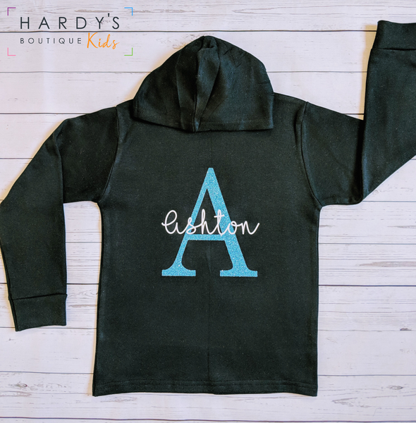 Name and initial Hoodie