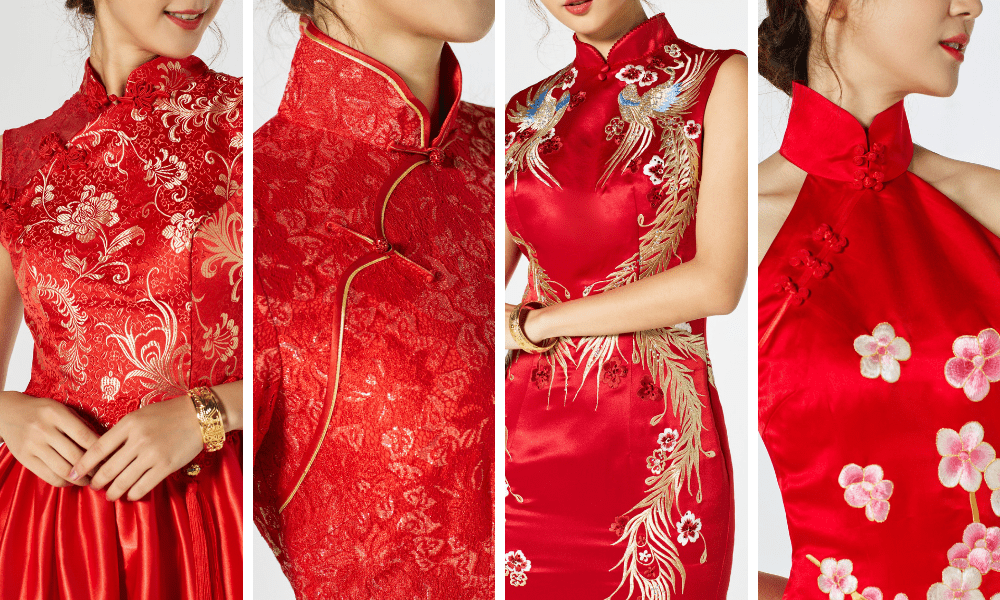 Can You Wear Red To A Wedding.5 Chinese Elements Of A Qipao Make Your Chinese Wedding Dress Your