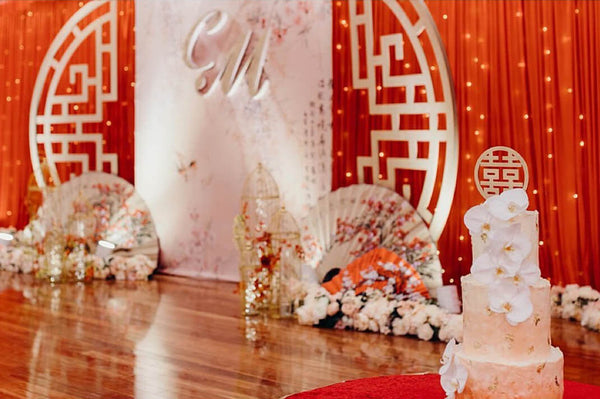 Chinese Wedding Banquet Decorations, Red Element