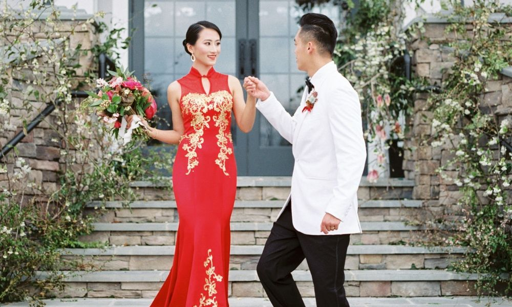 Modern Red Chinese Wedding Dress Styles, Chinese Wedding Cheongsam